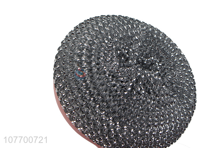 Hot sale kitchen cleaning stainless steel wire brush scourer ball