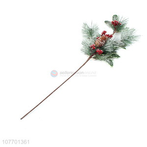 Hot product Christmas picks and sprays artificial Christmas branch
