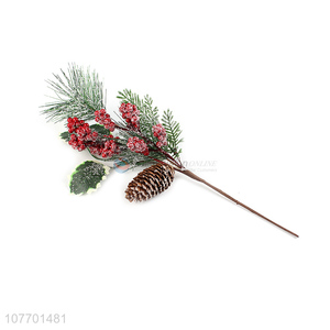 Promotional decorative artificial pine needle Christmas spicks and sprays