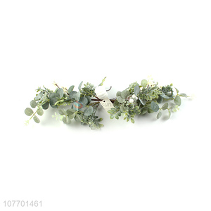 Hot product holiday onament Christmas vine with white berries