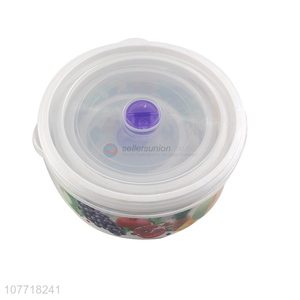 Sealed plastic bento food storage preservation boxes