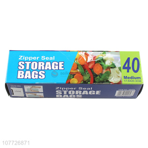 Top sale cheap price zipper seal food storage bags