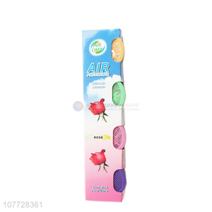Hot selling rose fragrance beads bathroom air freshener air deodorant