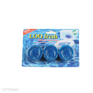 High quality blue toilet toilet cleaner deodorant and decontamination blue bubble toilet cleaner