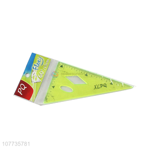 Hot product plastic triangle ruler geometric drawing ruler