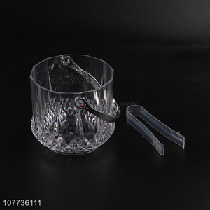 High quality home kitchen portable ice bucket with clip