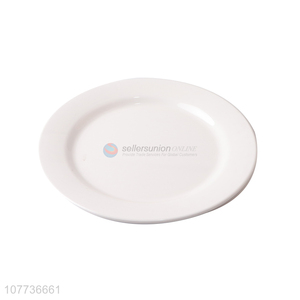 High-quality Hotel Catering Dishes White Series Melamine Tableware