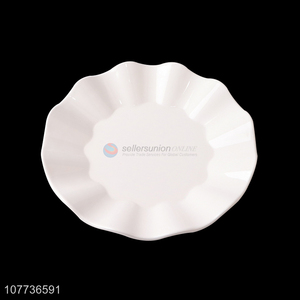 School canteen commercial plastic plate melamine fast food plate tableware