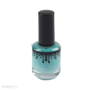 Newest product non-toxic 18ml lady nail polish