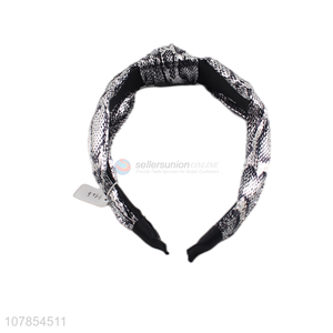 New Design Knotted Headband Fashion Hair Hoop For Women