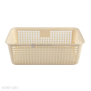New arrival rectangular multi-use plastic storage box with handles