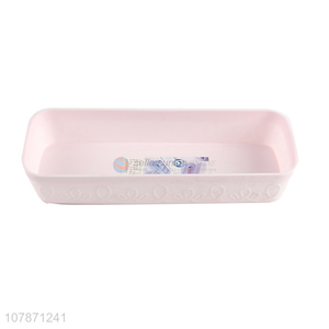 Hot selling multi-purpose plastic storage box for home office bathroom
