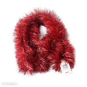 Yiwu wholesale red holiday ornaments tops decoration ribbon
