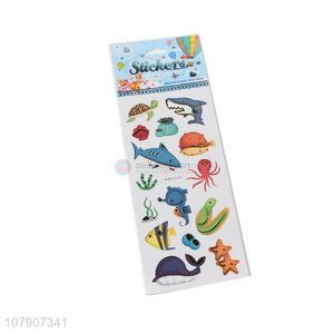 Yiwu direct sale multicolor cartoon animal flat stickers